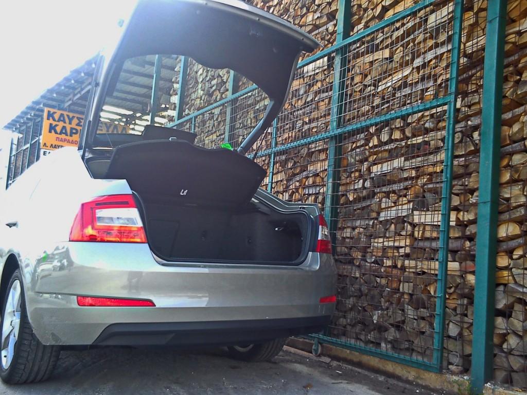 Skoda Octavia CNG 4