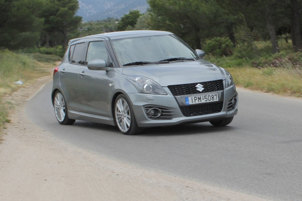 motornews test suzuki swift sport 136 ps 5d. Black Bedroom Furniture Sets. Home Design Ideas