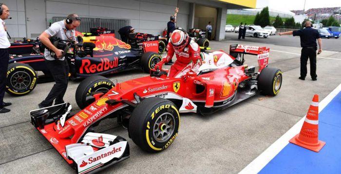 Ferrari Raikkonen Suzuka 2016