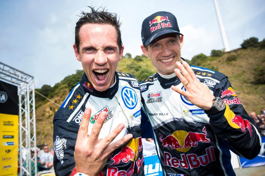 Ogier WRC 4th time Champion