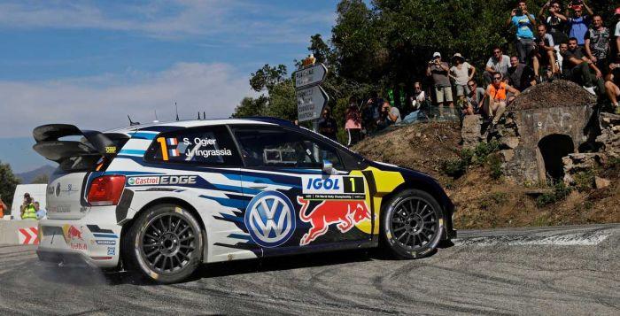Ogier_VW Polo R_Rally Corsica 2016