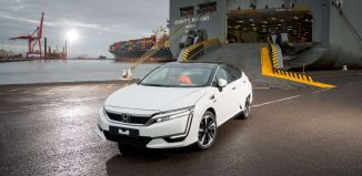 Honda Clarity in Europe 2016