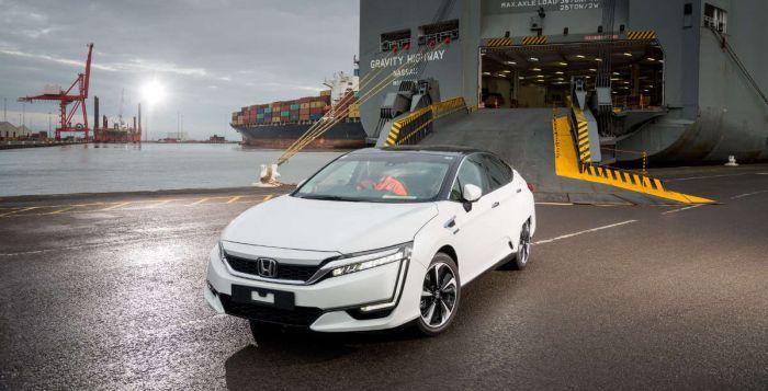 Honda Clarity in Europe 2016