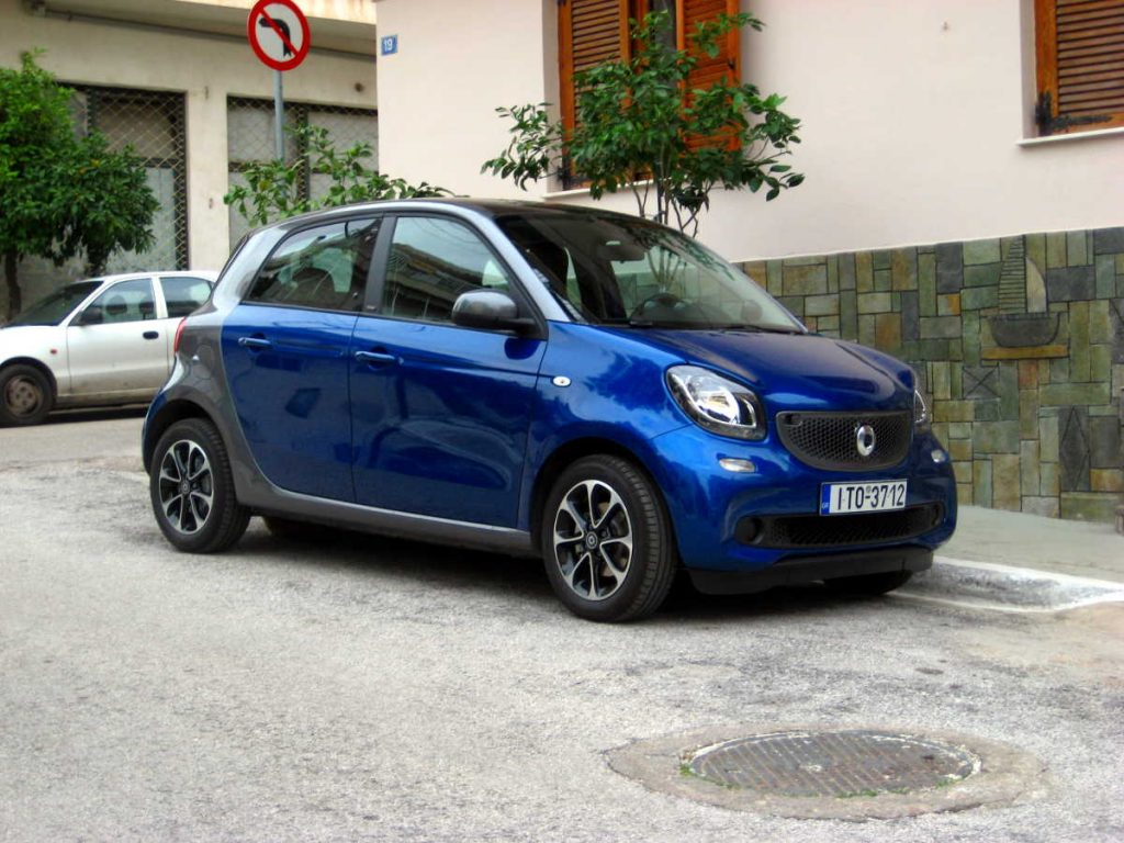 Smart ForFour turbo 90hp twinamic 2016