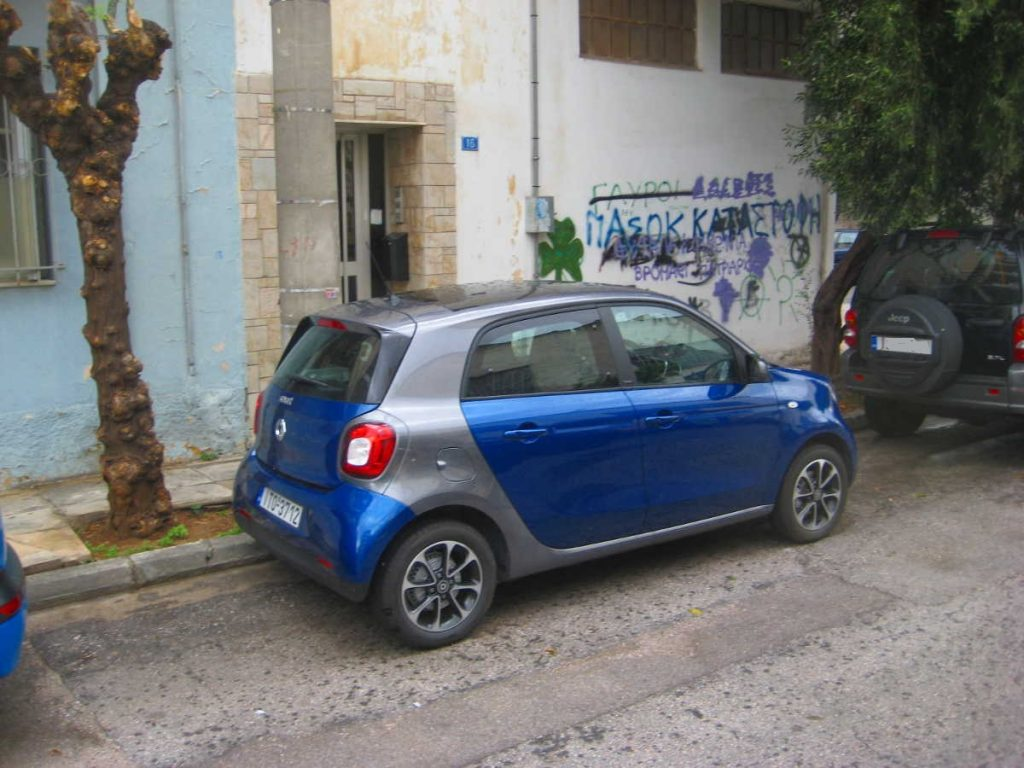 Smart ForFour 90hp twinamic 2016