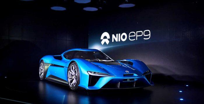 NIO EP9 2017