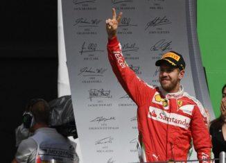 Vettel Mexico 2016