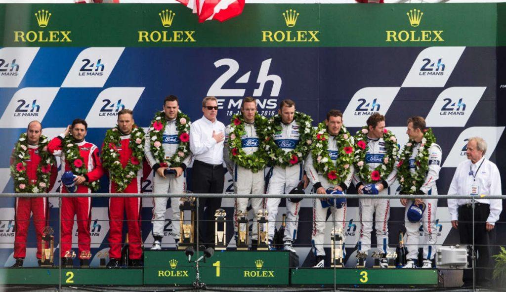 Le Mans 24h 2016 podium