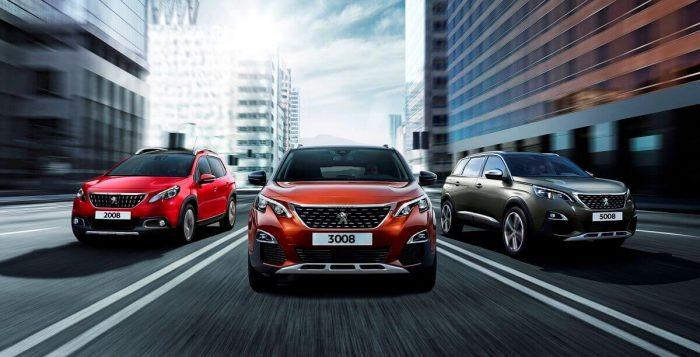 Peugeot family 2017