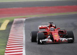 Formula 1 Raikkonen test 2017 11