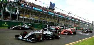 F1 Australia grid 2016