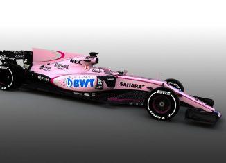 Force India VJM10 Pink 2017