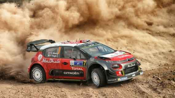 Chris Meeke Rally Mexico 2017