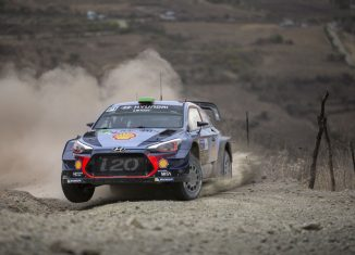 Rally Mexico 2017 Hayden Paddon