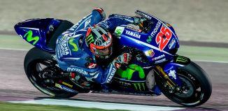 Vinales MotoGP Qatar Test 2017