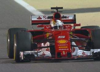 2017 Vettel at Bahrain GP