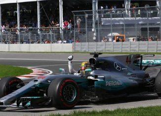 Hamilton Canadian GP 2017