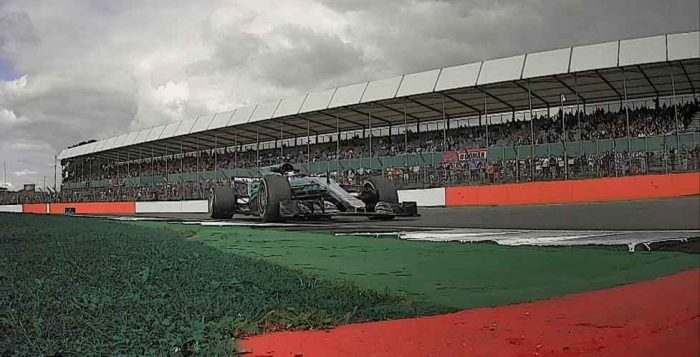 British GP 2017 FP1 Bottas