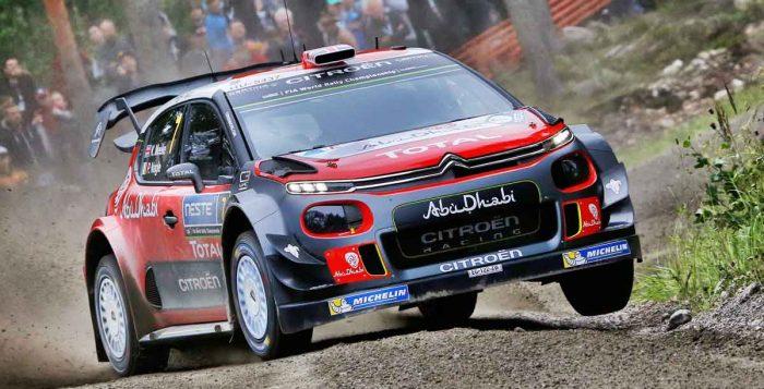 Kris Meeke Rally Finland 2017