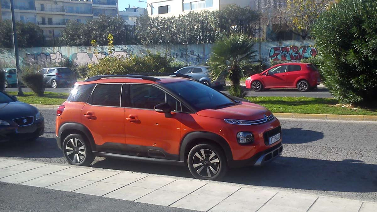 live test citroen c3 aircross 1 6 100hp. Black Bedroom Furniture Sets. Home Design Ideas