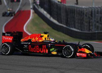 Red Bull Ricciardo Austin 2016
